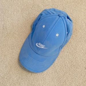 Nike Blue Fitted Baseball Hat